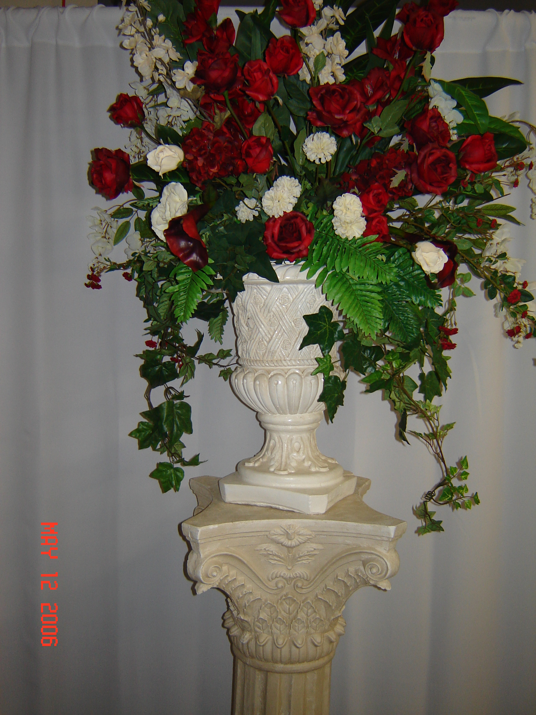 Simply elegant weddings flower arrangements customized in your colors high quality silk flowers look real mightylinksfo