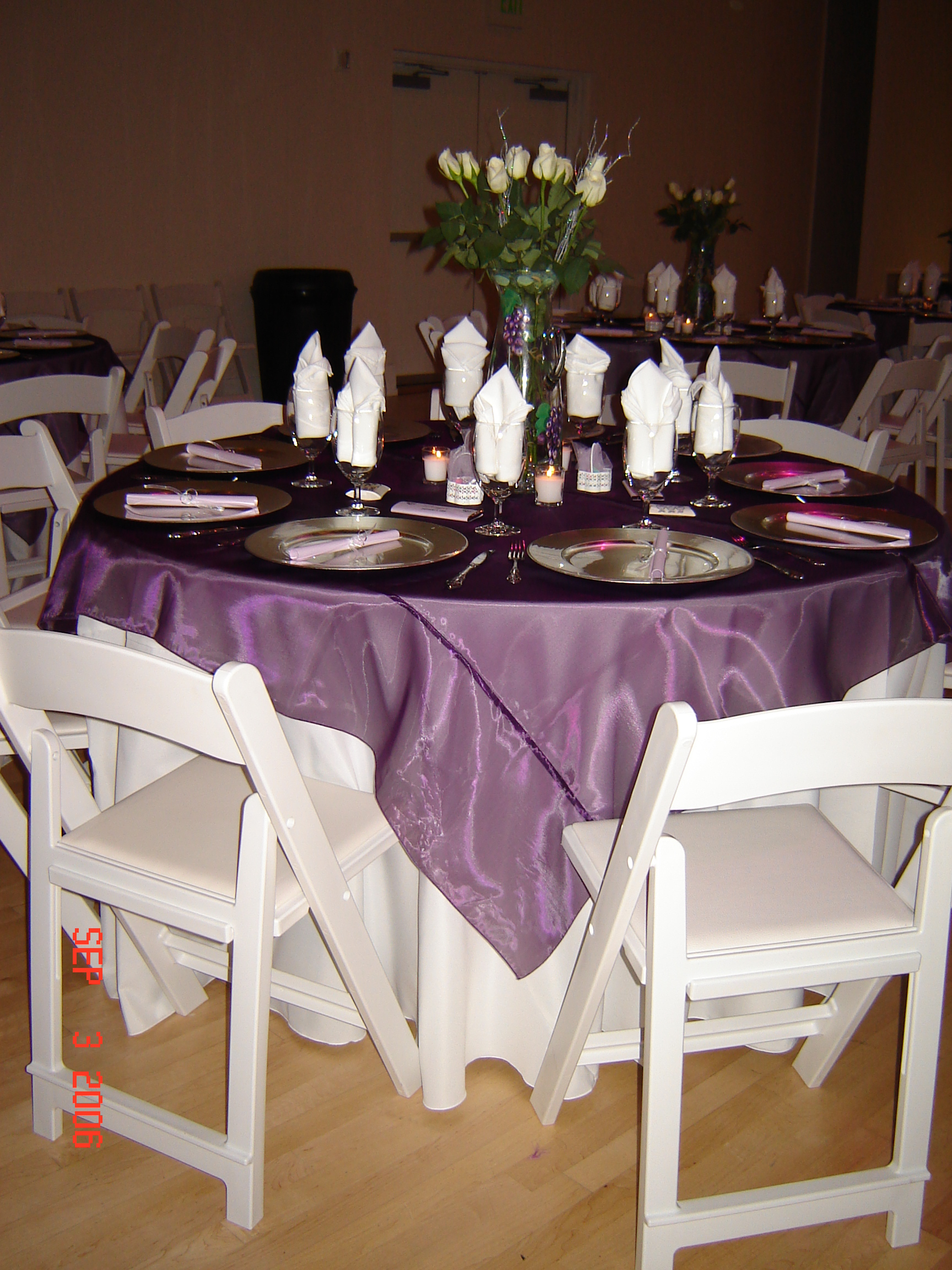 weatherwise inc round table tables linen and tent rentals chairs
