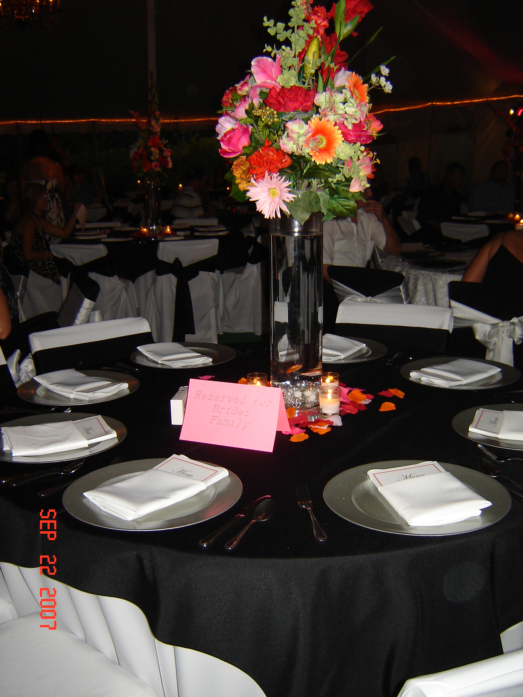 Simply Elegant Weddings Flower Arrangements