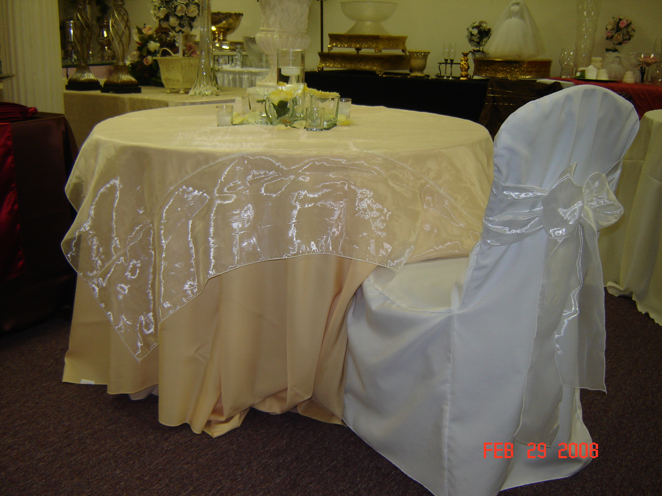 Simply Elegant Weddings Linen rentals Fort Worth Dallas
