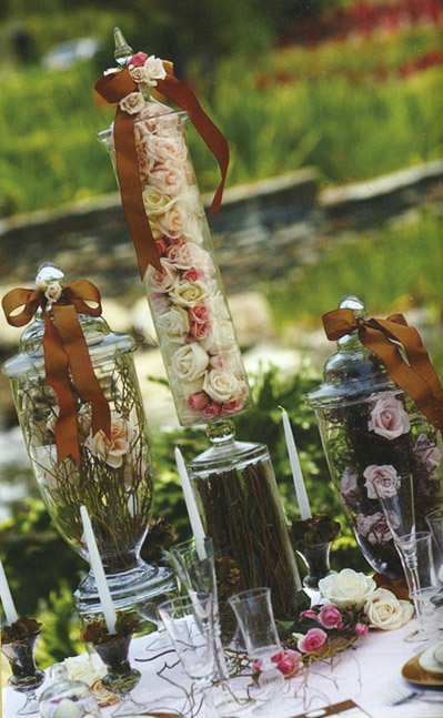 Simply Elegant Weddings Vases Candy Bar Vases Apothecary Jars