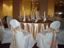Simply elegant weddings chair cover rentals wedding rentals serving the dallas fort worth area junglespirit Images